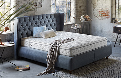 Marquis Storage Bed Set Krem