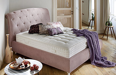 Rose Storage Bed Set Beyaz