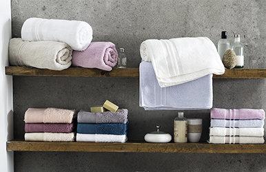 Basic Micro Guest Towel Ekru