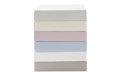 Basic Fitted Sheet Ekru