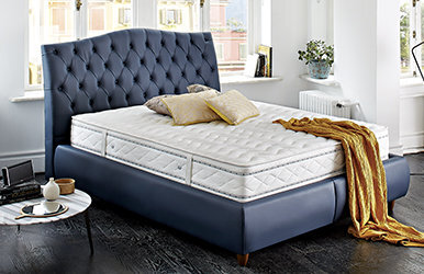 Dafne Storage Bed Set Yeni Krem