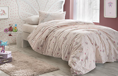 Tilda Child Duvet Cover Set Pembe