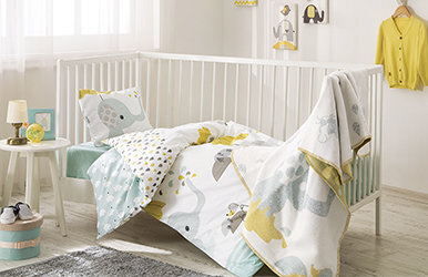 Leon Baby Duvet Cover Set