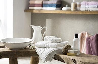Basic Micro Hand Towel Beyaz