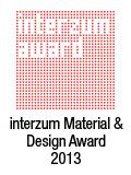 İnterzum Akıllı Malzeme ve Tasarım ödüllü.