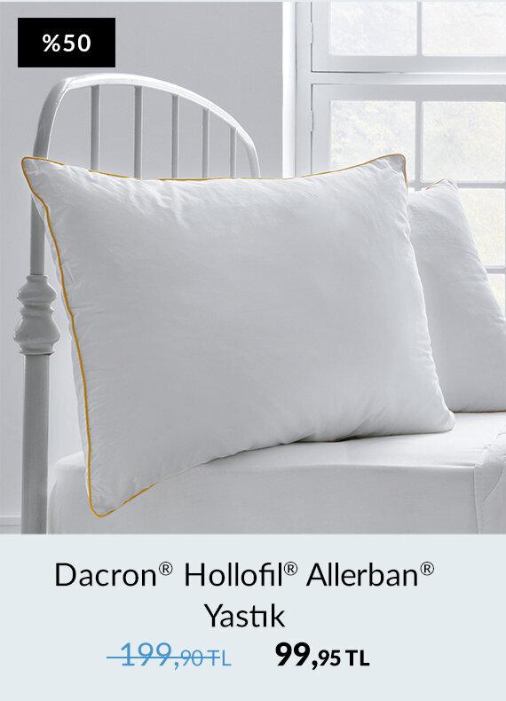 Dacron Hollofil Allerban Yastık