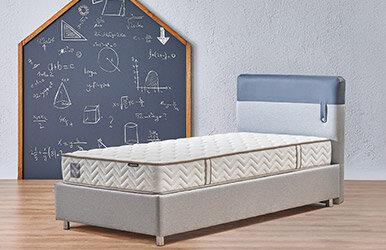 Loris Sandıklı Multi Yatak Set Lacivert Yatak Baza Başlık Seti Lacivert