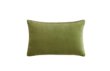 Lovel Velvet Decorative Pillow Açık Yeşil