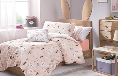 Bunny Child Ranforce Duvet Cover Set