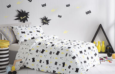 Hero Kid Child Ranforce Duvet Cover Set