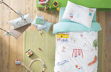 Playground Child Ranforce Duvet Cover Set