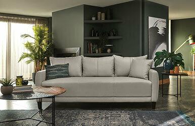 Enza Home Smart 2.5 Seat Sofabed Açık Gri
