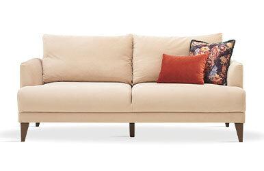 Enza Home Fiore 2 Seat Sofabed Vizon