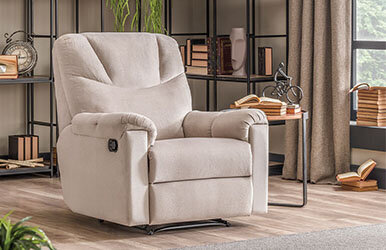 Enza Home New York Recliner Krem