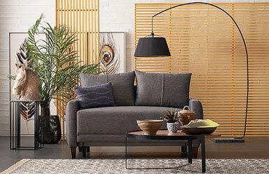 Enza Home Smart 2'li Yataklı Koltuk Kahverengi