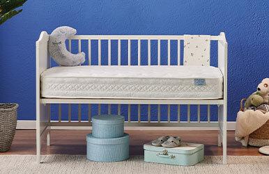 Baby Blue Star Yaylı Yatak