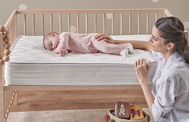 Milky Comfy DHT Padded Spring Mattress