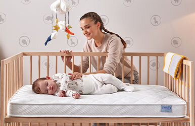 Minipo Baby Mattress with Waterproof Protector