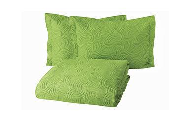 Wave Ultra Yatak Örtüsü Seti Yeşil