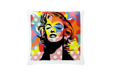 Andy Warhol Baskılı Dekoratif Yastık