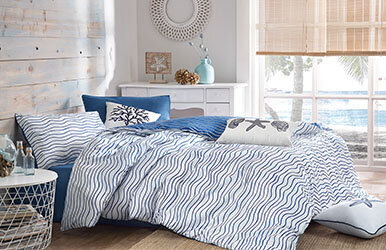 Lapis Ranforce Duvet Cover Set