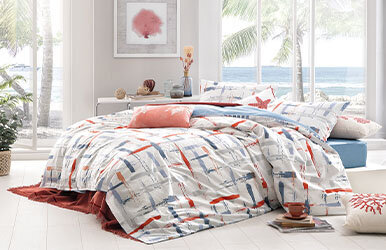 Merin Ranforce Duvet Cover Set