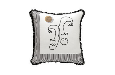 Edna Tasselled Decorative Pillow