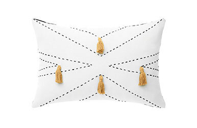 Nappa Decorative Pillow Ekru