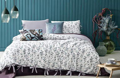 Marta Ranforce Duvet Cover Set Lila