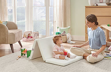 Babygo Portable Baby Bed Beyaz