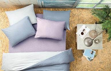 Noah Standard Pillowcase Lila