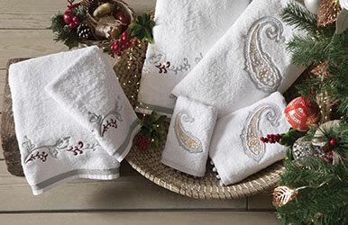 Carpa Guest Towel Beyaz