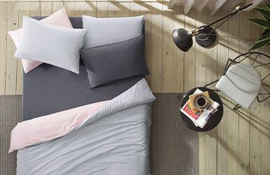 Noah Standard Pillowcase Antrasit