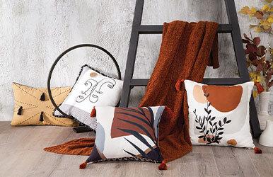 Gale Dekoratif Yastık Renkli