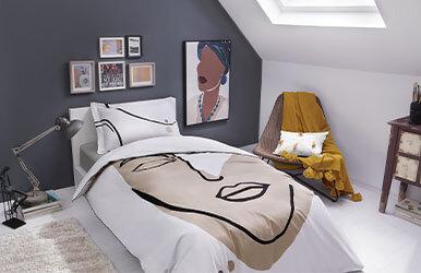 Matisse Pollycotton Nevresim Takımı Gri/Bej