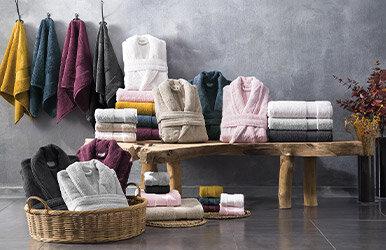 Essentials Hand Towel Lacivert