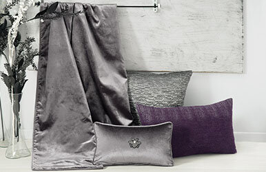 Dasha Wool Decorative Pillow Mürdüm