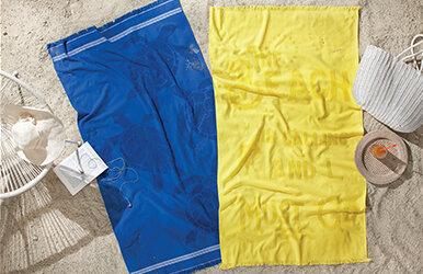 Adeo Beach Towel Sarı