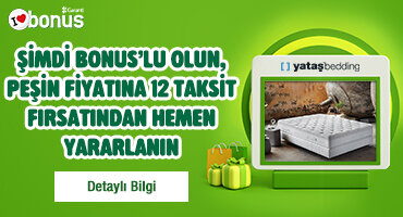 PEŞİN FİYATINA 12 TAKSİT FIRSATI!