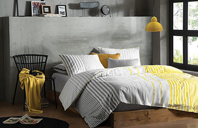 Hermia Ranforce Duvet Cover Set With Fitted Sheets