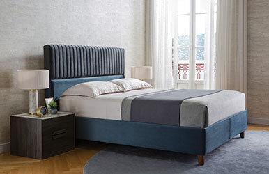 Lisbon Venezia Mini Set Base and Headboard Set Lacivert
