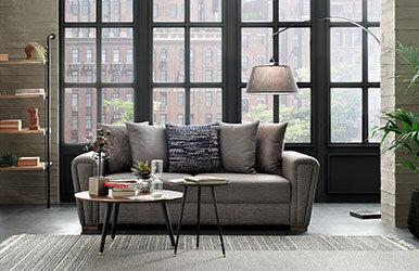 Enza Home Brera 2 Seat Sofabed Kahverengi