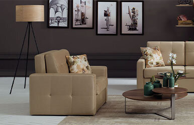 Enza Home Cosmo Cosmo Single Seat Sofabed Kahverengi