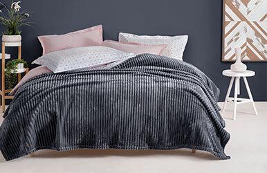 Holly Wellsoft Blanket Antrasit