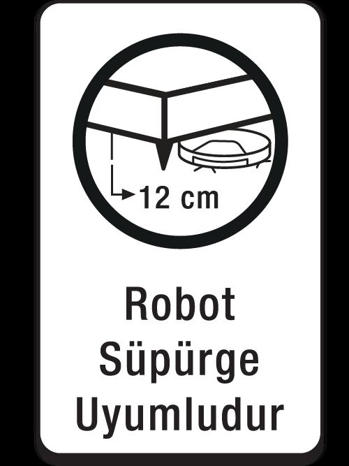 Robot Süpürge Uyumludur