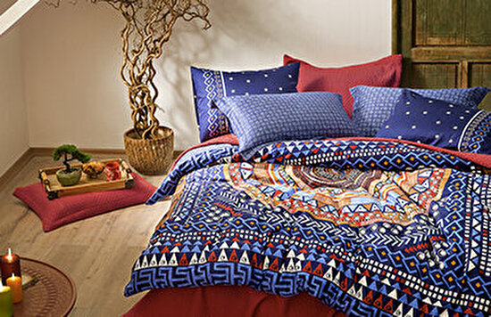 Dante Saten Duvet Cover Set Yatas Bedding
